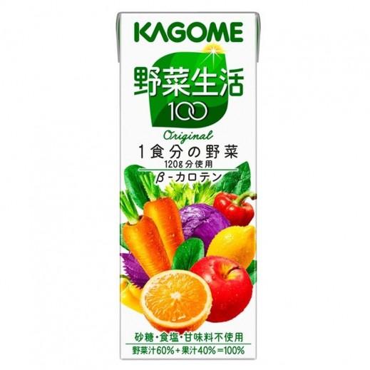 Kagome Vegetable & Fruit Juice 200 ml