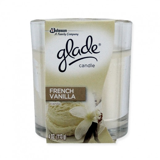 Glade Candle Pure Vanilla Joy 96.3 g