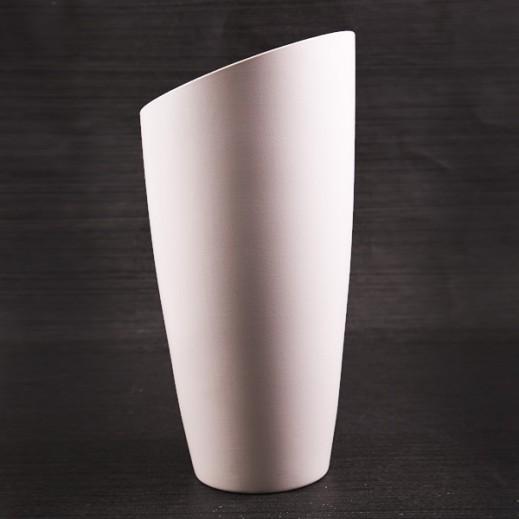 Scheurich Panna Wide Vase Off White