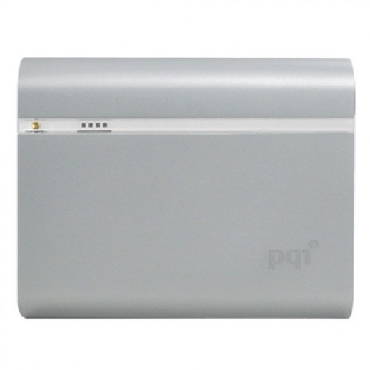 PQI Power Bank 12,000mAh Silver