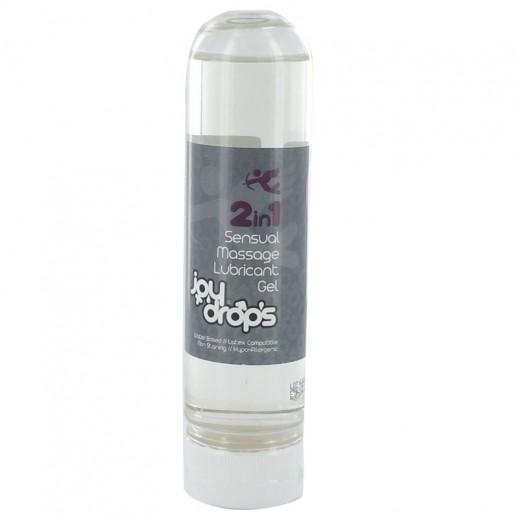 Joy Drops 2 in 1 Sensual Massage Lubricant Gel 150ml
