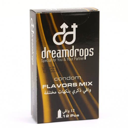 Dreamdrops Flavors Mix Condom 12 Pieces