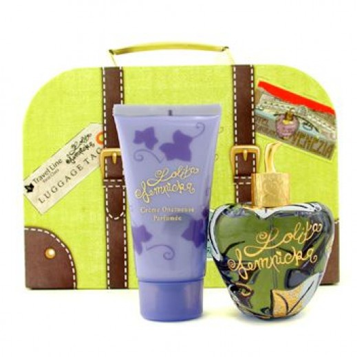 Lolita Lempicka Gift Set For Her EDP 100 ml + Perfumed Velvet Cream 75 ml