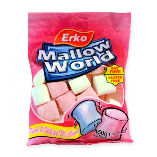 Erko Mallow World Pink & White Mallow 150 g