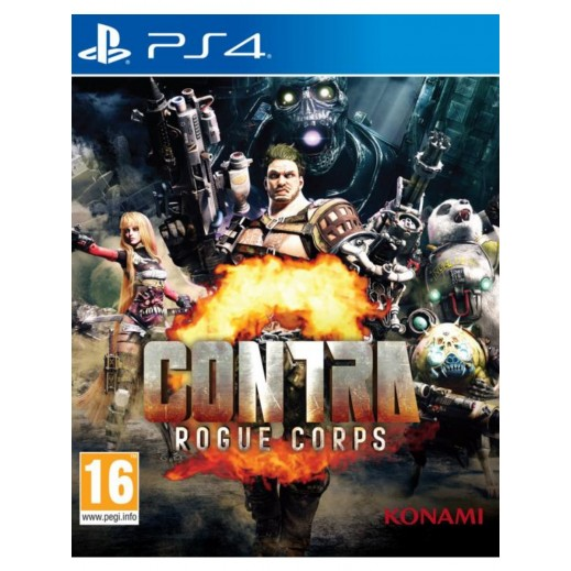 Contra Rogue Corps for PS4 - PAL