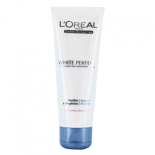 L'oreal White Perfect Facial Milky Foam 100 ml