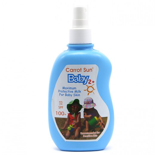 Carrot Sun Protective Milk For Baby 2+ (SPF100+) 200 ml