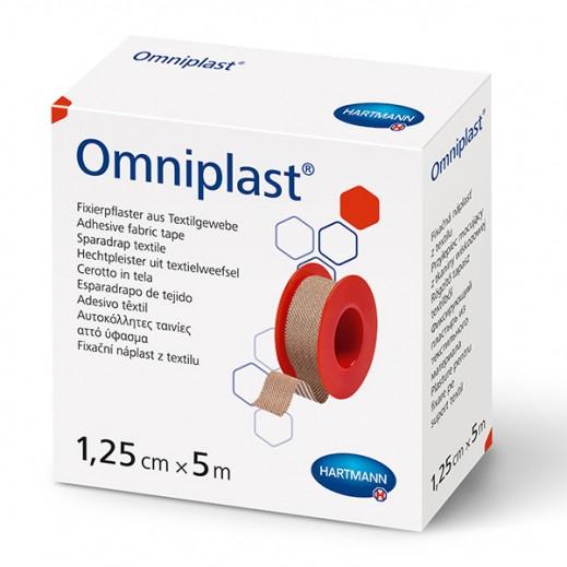 Hartmann Omniplast Skin Color Adhesive Fabric Tape 1.25 cm X 5 m