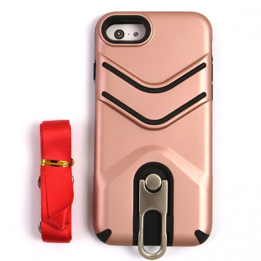 Outdoor Protective Case for iPhone 7 / 8 - Rose Gold