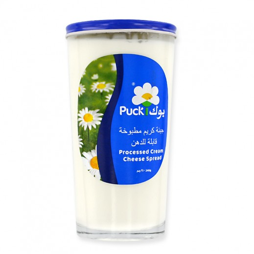 Puck Processed Cream Cheese Spread 240 g