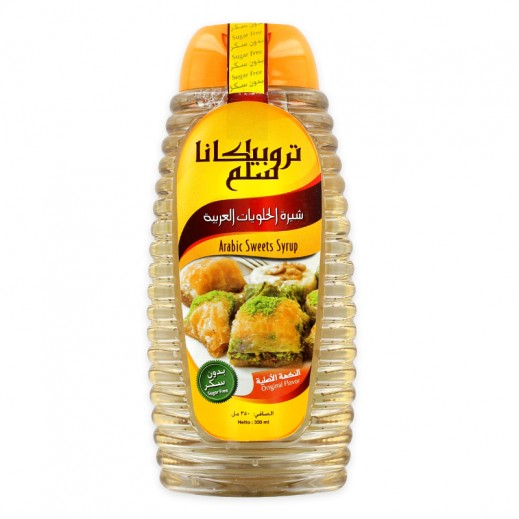 Tropicana Slim Arabic Sweets Syrup Sugar Free 350 ml