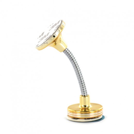 Car Multifuctional Rotary Mobile Phone Holder Gold