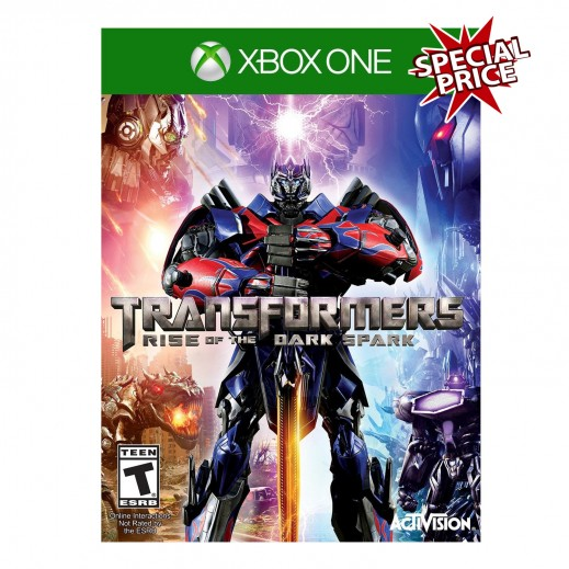Transformers Rise of the Dark Spark For Xbox One - NTSC