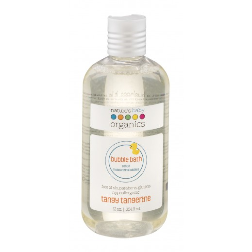 Nature's Baby Organics Tangy Tangerine Bubble Bath 354.9 ml