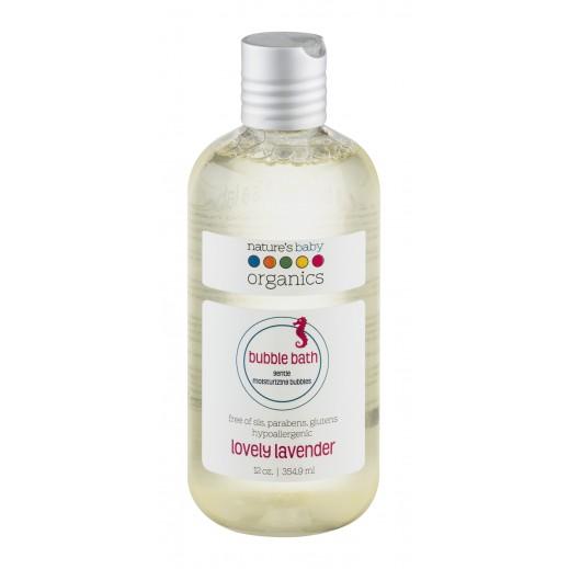 Nature's Baby Organics Lovely Lavender Bubble Bath 354.9 ml