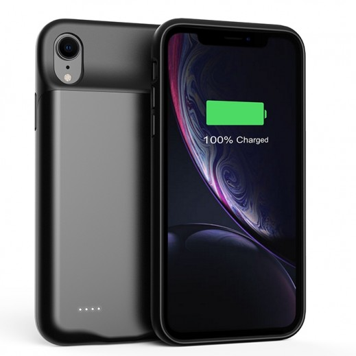 Porodo Power Case for iPhone XR 4,000 mAh - Black