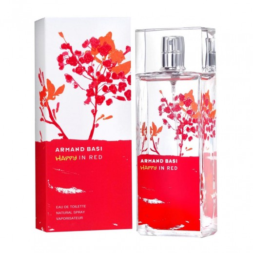 Armand Basi Happy In Red For Her EDT 50 ml - delivered by Beidoun