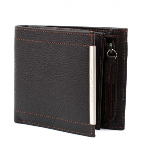 Charles Jourdan JLS715 Leather Wallet Brown