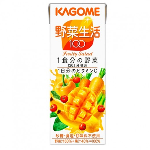 Kagome Vegetable & Fruity Salad Juice 200 ml