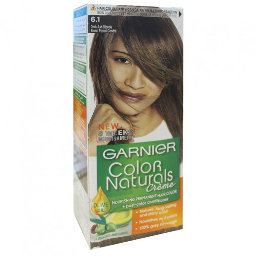Garnier Color Naturals 6.1 Dark Ash Blonde Hair Color