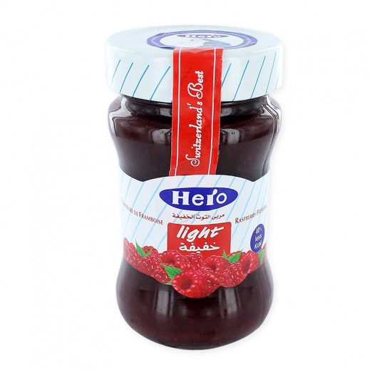 Hero Jams Light -Raspberry 200 g