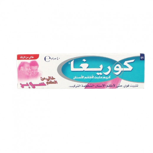 Corega Denture Fixative Cream Super Taste Free 40 gm