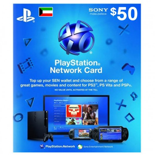$50 Playstation Network Card  - KWT Store