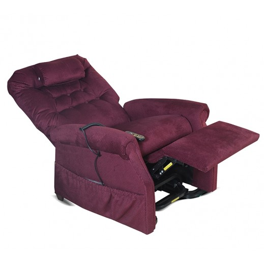 Gold Technologies Lift Chair With Massage Unit - Rosewood - delivered by Al Essa Company