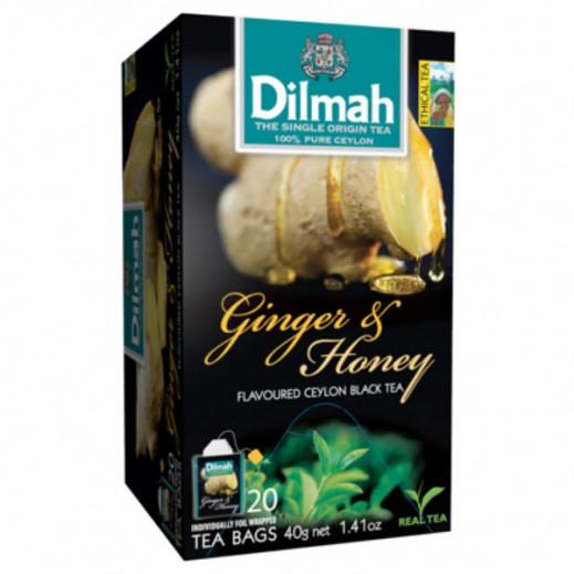 Dilmah Gourmet Ginger & Honey Tea 1.5 g (20 bags)