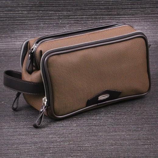 Valentino Orlandi 605 Plain Yacar 3 Chains Cuero Men's Hand Bag - delivered by My Fair Lady