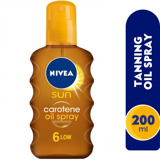 Nivea Sun Tanning Oil Spray SPF 6 200 ml
