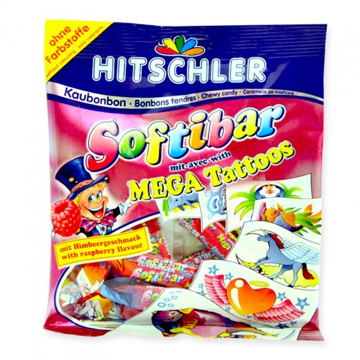 Hitschler Softi Bar Mega Tattoos 75 g