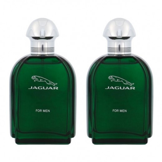 Jaguar Green For Him EDT 100 ml 1 + 1 Free