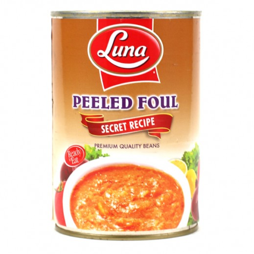 Luna Peeled Foul With Secret Recipe 400g