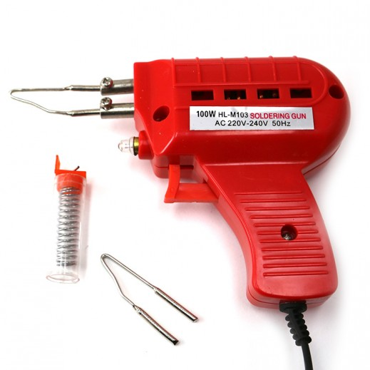 Amco 100W Electric Soldering Gun - Red
