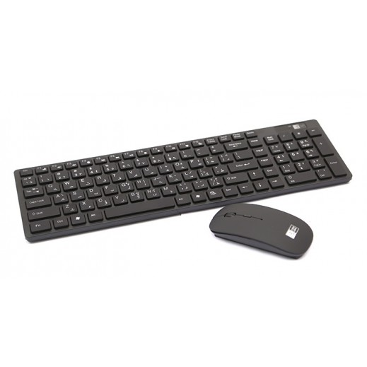 Case Logic Wireless Keyboard and Mouse - Black