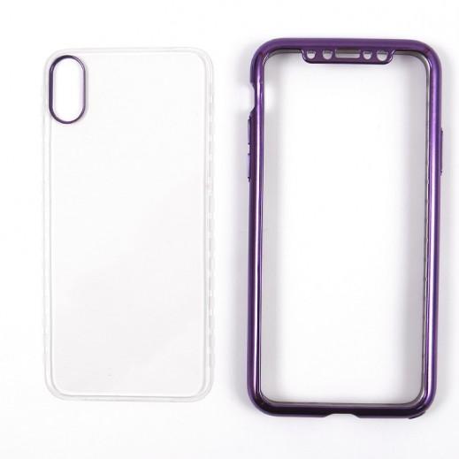 Voero Case For iPhone X – Purple