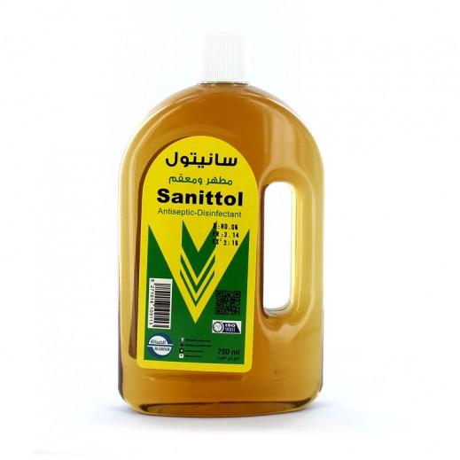 Al-Sanea Sanittol Antiseptic Disinfectant 750 ml