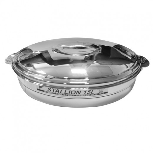 Eagle Stallion Stainless Steel Casserole 15 L