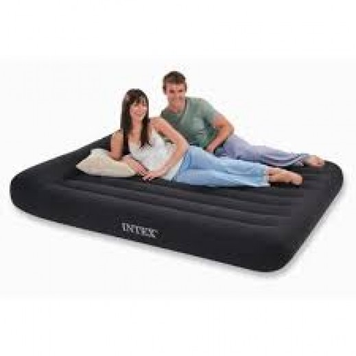 Intex Queen Pillow Rest Classic Air Bed