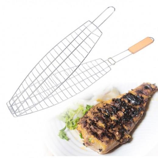 Heavy Duty Fish Grill Net 33 x 20 cm