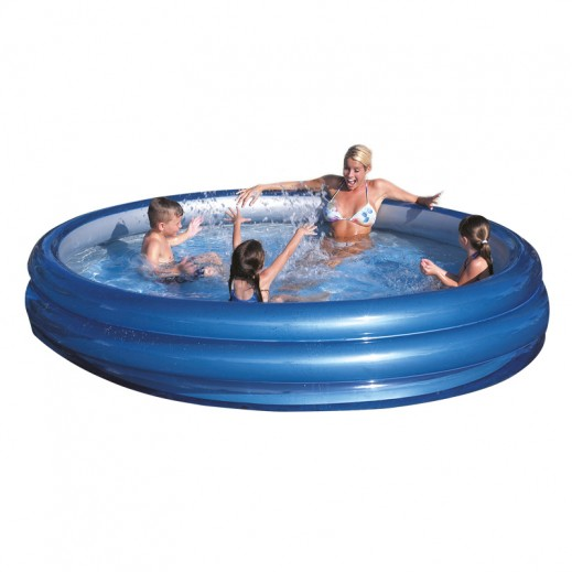 Bestway Big Metallic 3-Ring Pool  (Ø201cm x H53cm)