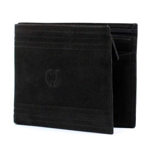 Charles Jourdan JLW914 Leather Wallet Black