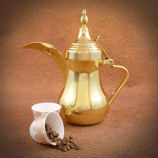 Arabic Dallah Gold 1.5 L