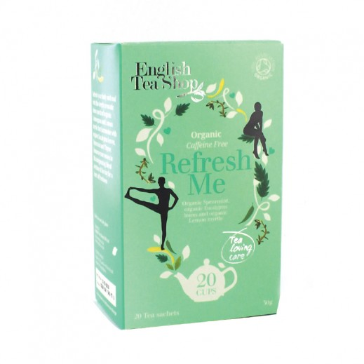 English Tea Shop Refresh Me  Organic Tea 20 Sachet (30 g)