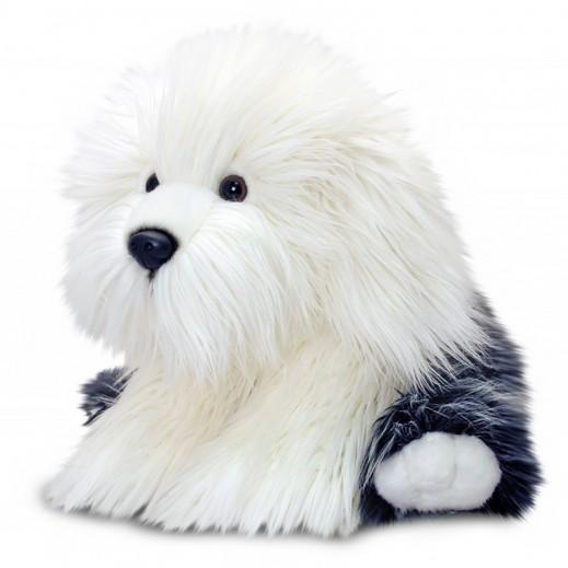 Keel Toys Black & White Sheep Dog 35 cm