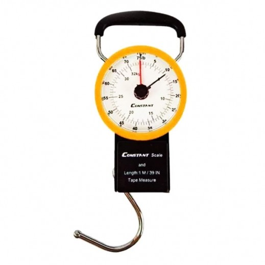 Constant Luggage Scale & Tape Measure