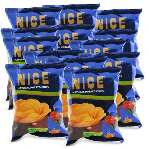 Kitco Nice Spicy Chips 80 x 30 g