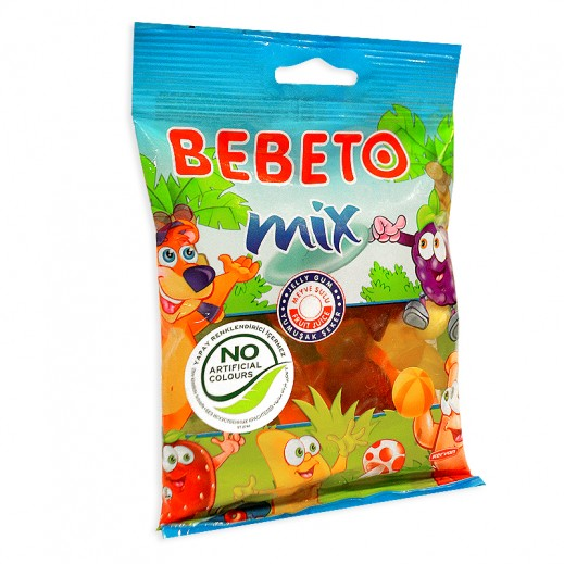 Bebeto Mix Fruits 100 g