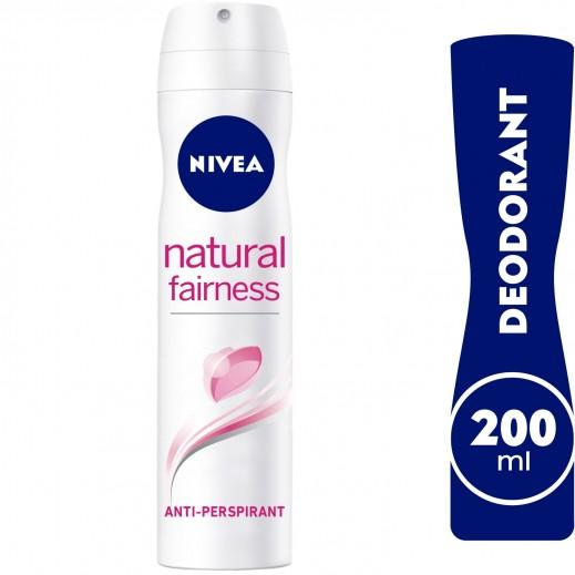 Nivea Deo Natural Fairness Spray Women 200 ml